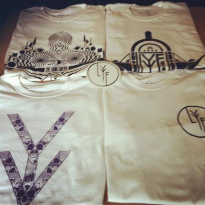LYF TEES JUST COME BACK FROM THE PRINTERS TODAY. ON SALE LATER THIS WEEK. JOIN US ON FACEBOOK: https://www.facebook.com/lyfclothing STORE: http://lyfcorp.bigcartel.com/