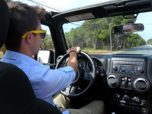 THE best way to see Ibiza by land, a JEEP WRANGLER of course!