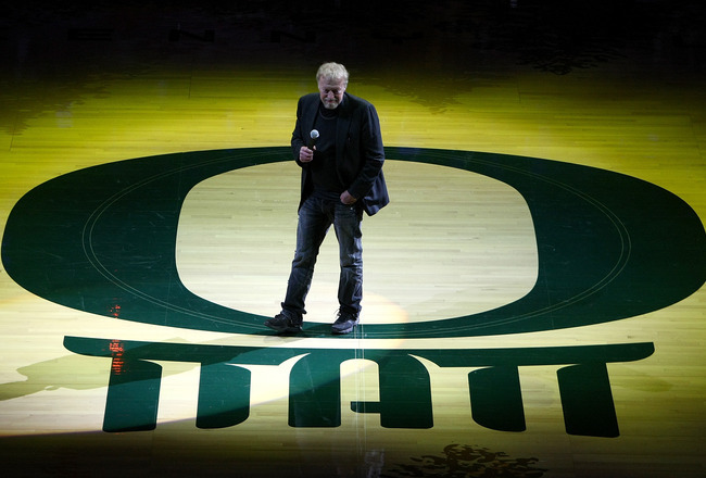 "Oregon Ducks Football: Phil Knight to Purchase New $68 Million Operations Center Phil Knight, Oregon's notable alumnus, has made news once again this morning. His newest purchase, the new football operations center is slated to cost him $68 million. Of course, we've come to accept that Phil Knight is prepared to do whatever it takes to help his alma matter become the premier sports program in the world. This morning, we found out that the new building is scheduled to open in the fall of 2013, and will be an intense lure for all recruits considering the University of Oregon as a potential destination to play football. According to the USA Today, the University of Oregon's new football operations center will come with the most state-of-the-art facilities in the entire world for all things related to the game day preperations:  ""Blueprints submitted to the city of Eugene show 124 climate controlled lockers for the football players, each outfitted with an iPod dock and a charging station. Designed by Nike's Phil Knight, the facility will also include: two movie theaters, a Duck football museum, a war room akin to the White House's, a 2,285-square-foot players lounge, and a 25,000-square-foot weight room.""   The Register Guard also initially reported that the football coaches ""will have a private hot tub and steam room, each with a waterproofed video center, next to their locker room, so they can watch games while taking a soak."" Alas, Athletic Director Craig Pintens debunked this rumor but Rob Moseley of the Register Guard maintains that it was, in fact, in the original blue prints (which is actually brilliant if you think about what Knight must have had in mind when creating this new football Taj Mahal.) Moseley later reported that there will in fact be a waterproof video enclosure and hot tub near the coaches locker room … a piece of information so strong that it would be impossible to make up. Knight holds all naming rights to the 130,000 square foot building, and the architect will be from the same company that designed the Jaqua Academic Center for Student Athletes, which cost Knight $41.7 million. What do you think of these new plans from Phil Knight? Do you think it will attract recruits? Or is it a bit excessive? Is it a positive improvement on our campus? Would you have been happier if Chip Kelly was given a water-proof hot tub near his office, or is the spot by the locker room spot okay? As always, Go Ducks!"