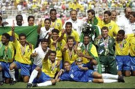 This Day In Soccer History: July 17, 1994 - Brazil beats Italy in a shoot out, for their 4th soccer world cup.  pinterest.com/mysterkeepinit  keepinitrealsports.wordpress.com  facebook.com/pages/KeepinitRealSports/250933458354216  Mobile- m.keepinitrealsports.com