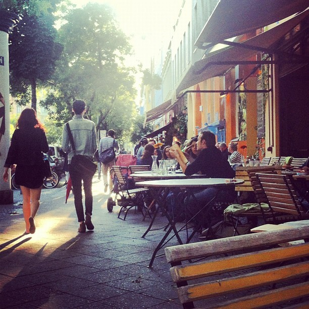 #bergmannstr #kreuzberg #berlin  (Taken with Instagram at Kaffee am Meer)