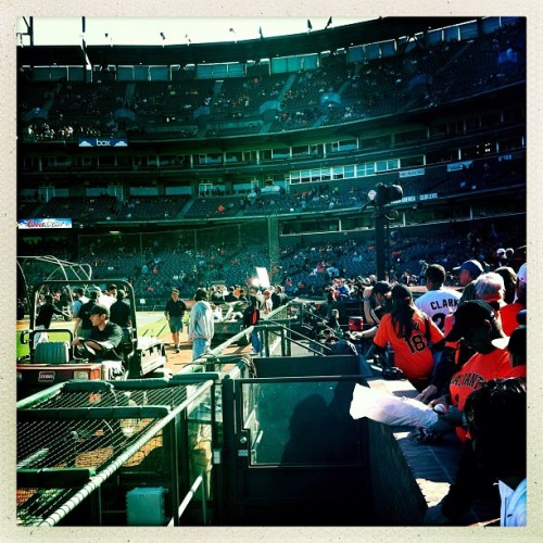 Yes, another from AT&T Park… (Taken with Instagram at AT&T Park)