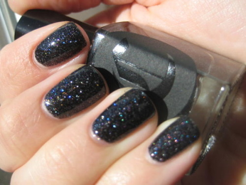 Unconventional nail color for a bride - but I think this could be quite beautiful. (via Cirque Dark Horse | Beautylish)