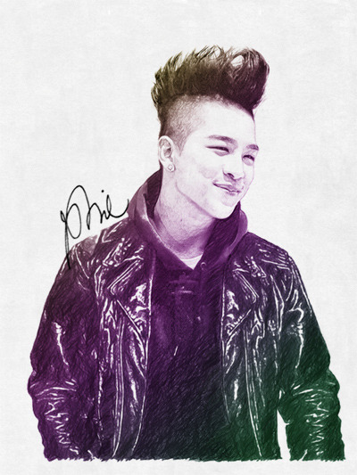 taeyang illustration! (5) Taeyang BIGBANG; Illustration by Irawan Phie