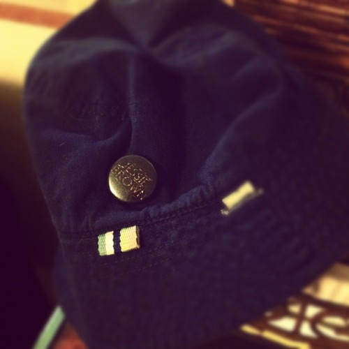 @patchealy graced Judah's hat with a @jessiebrown_ pin (Taken with Instagram)