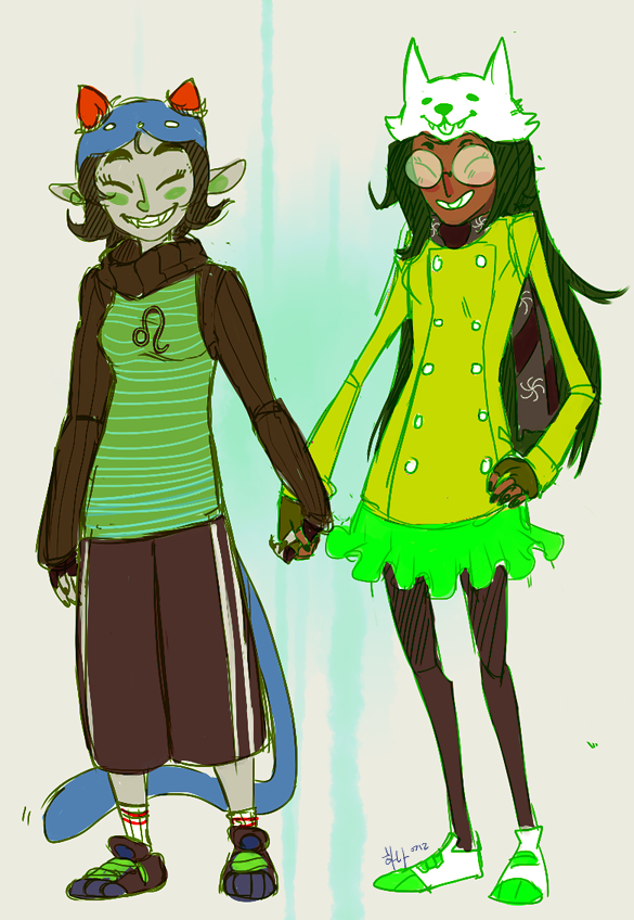 meowgon:  neophytecherryglare:  furries and yuris  A GOOD SHIP