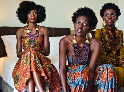 These ladies are rocking some of the beautiful collection from Afrodesiac Worldwide.   speechmusic:  sistas