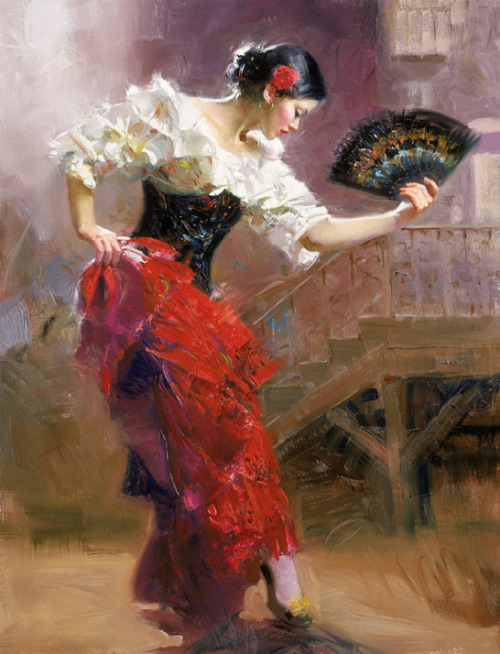 Spanish Dancer by Pino Daeni