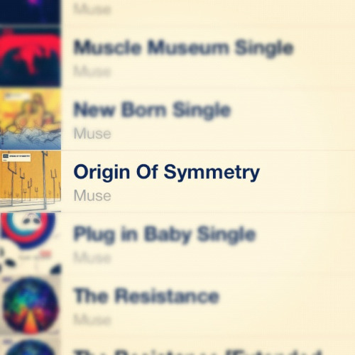 HAPPY 11th BIRTHDAY ORIGIN OF SYMMETRY ;3