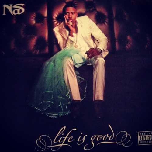 momiriam:  #NP #LifeIsGood by @nasnyc @Nas. Greatest rapper alive. My boo thang. GO BUY IT NOW!! #realhiphop ❤🎶🎵🎧🎤👍😍 (Taken with Instagram)  GO SUPPORT pinkGRAFFITI's FAVORITE!!! LIKE RIGHT NOW! #LifeIsGood