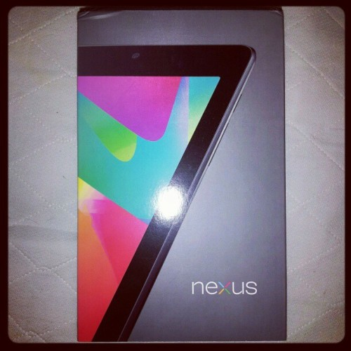Google Nexus 7 #earlyadoptor (Taken with Instagram)
