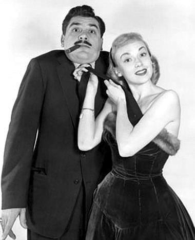 ibelieveinsasquatch:  Ernie Kovacs and Edie Adams.