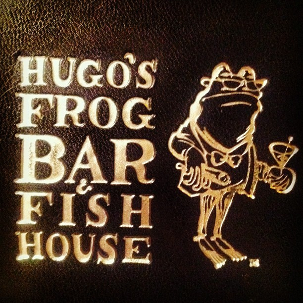 Eponymy (Taken with Instagram at Hugo's Frog Bar & Fish House)