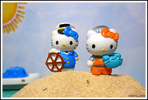 geekyhippiepunk:  Hello Kitties: Mississippi and Maryland (187/365) on Flickr.