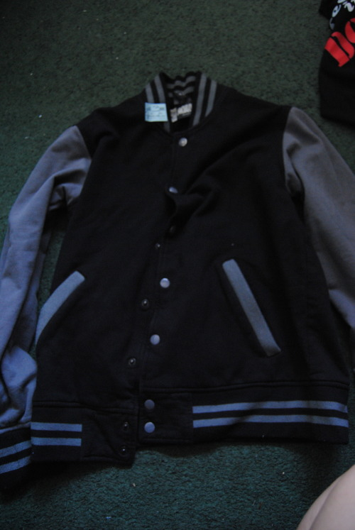 Finally bought myself a varsity jacket. Damn it.