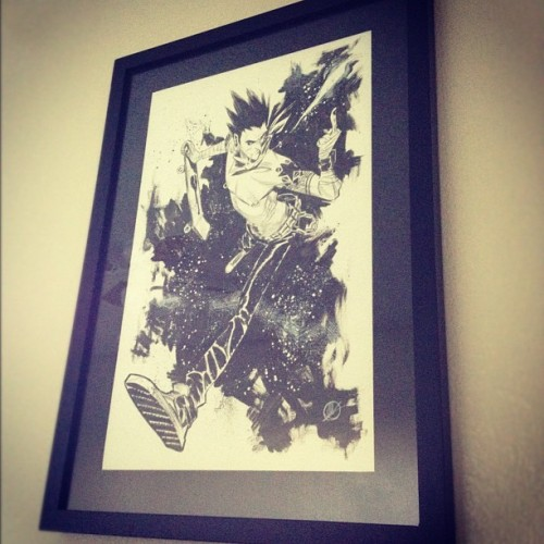 My very first piece of commissioned artwork! By Matteo Scalera! (Taken with Instagram)