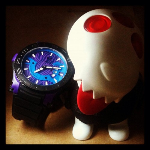 #mstr #meister #watches #prodigy #purple #singapore #hideandseeksg #sg #igsg #instagram #statigram #jj #jj_forum #brunei #brunika #cool #watchnerd #timepiece #iphonesia #iphone4s #black #rubber #strap #wristcandy #wristcheck  (Taken with Instagram at Hide & Seek)