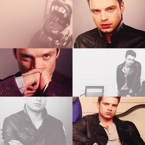 be on true blood, okay? ››› sebastian stan [vampire]