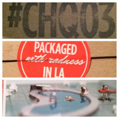 Just received #CHQ03 from @quarterly and @coolhunting (Taken with Instagram)