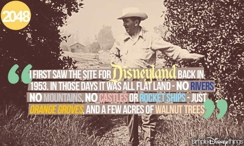 Happy 57th Birthday Disneyland!