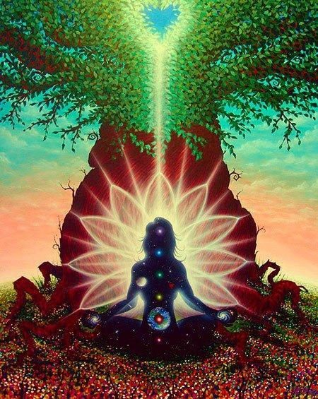 "astralfractal:  ""I meditate each day. Going within alleviates tension and stress, and allows me to hear what the Universe wants me to know."" -Louise Hay"