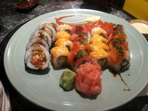 Sushi from Coconut Rock, Bermuda