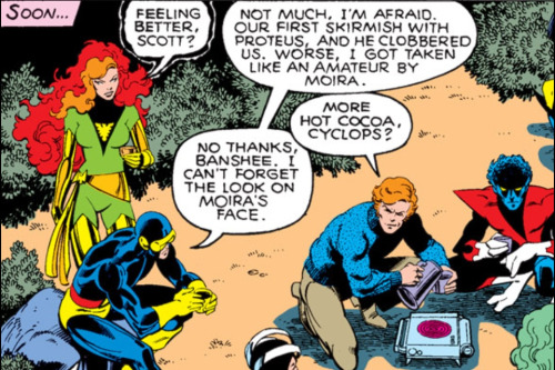 Uncanny X-Men #127 (1979)  More hot cocoa, Cyclops?  Now, THAT's a team.
