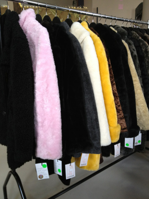 Friperie is having a faux fur sale $50