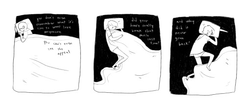 gingerhaze:  a comic about being heartless, and sleeping