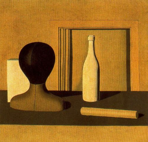 GIORGIO MORANDI Natura Morta, 1918 oil on canvas, 68 1/2 x 72 cm