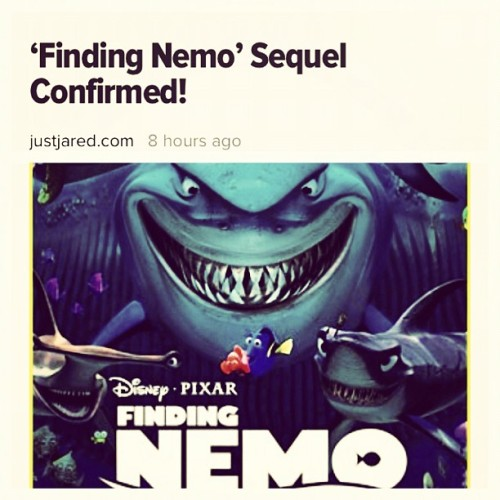 Finding Nemo Sequel!! Yes!!!!! (Taken with Instagram)