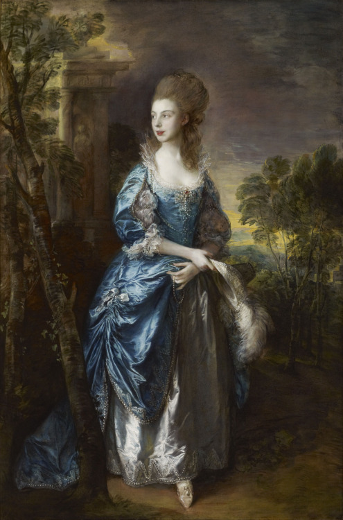 T. Gainsborough - Frances Duncombe 1777 Oil on Canvas