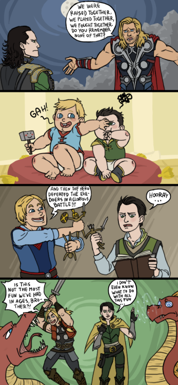 allingoodtimes:  Avengers: Thnks Fr Th Mmrs by *sparkyHERO ]]>
