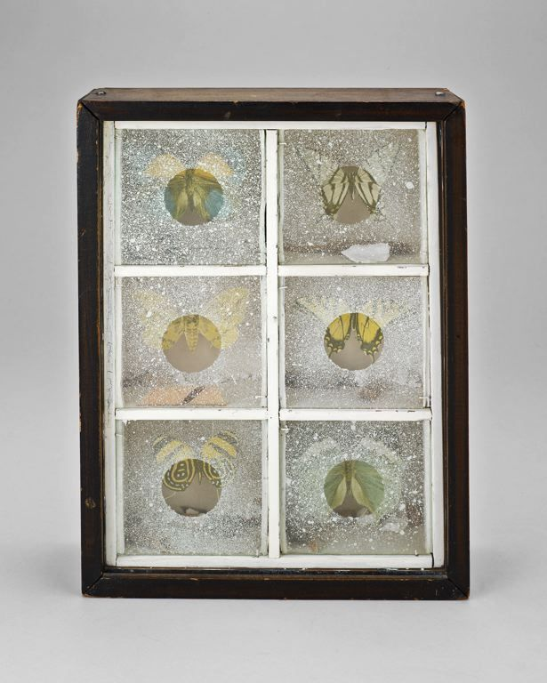 Joseph Cornell    [+] American, 1903–1972 Untitled (Butterfly Habitat), c. 1940 Art © The Joseph and Robert Cornell Memorial Foundation / Licensed by VAGA, New York, NY