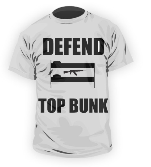 zacklloyd:  Alright guys. Order yourself one! defendtopbunk.bigcartel.com