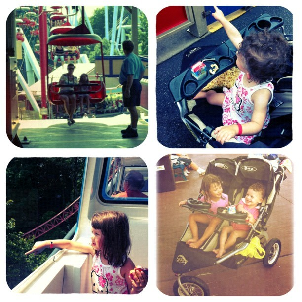 A little bit of what we did on our last day at #hersheypark !!! #family #cute #candid #cousins #love #lake #sky #silly #smile #snacks #pa #park #popcorn #stroller #icecream #rides #ritas #rollercoaster #waterrides #wet #bathingsuits #baby #bridge #girls #monorail #summerfun #stuckintime #skyview #juice #gate #vacay #wet #adorable  (Taken with Instagram)