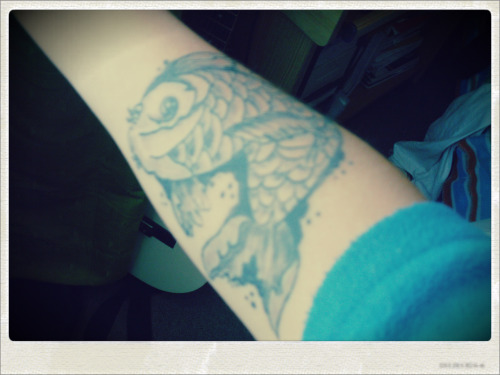 I'm in love with my Tattoo :3