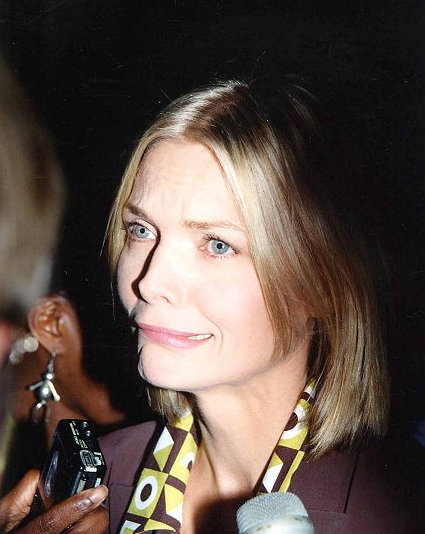 We have no words. This is just unfortunate in every way. Michelle Pfeiffer, 1997 FOX Press Tour Party.
