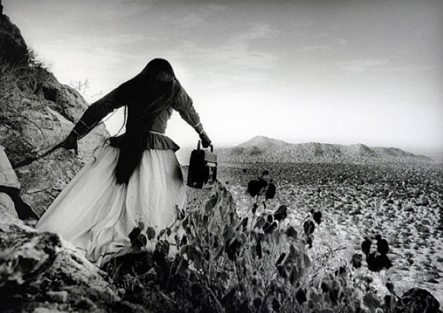 My favorite photograph, by Graciela Iturbide, from my last trip to SFMOMA.