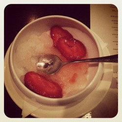 Strawberry and granita heaven! (Taken with Instagram at SPQR)