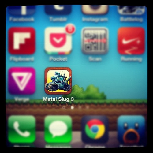 Metal Slug 3. Nuff said. #iOS #Nostalgia #Gaming #Arcade (Taken with Instagram)