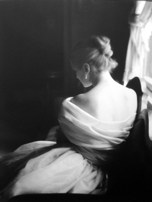 theniftyfifties:  Model Margy Cato in a test shoot by Lillian Bassman, 1950s.
