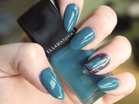 My nails again Illamasqua Muse