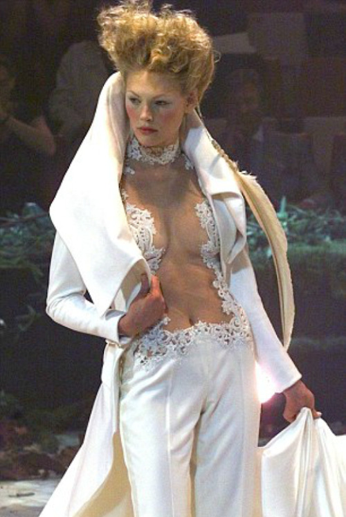 bitchismad:  Givenchy haute couture f/w 1998 by Alexander McQueen