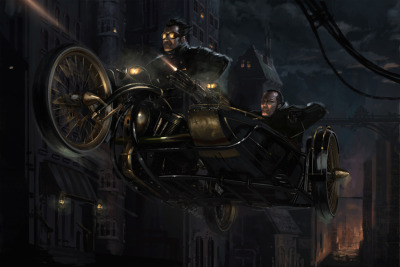 Steampunk Holmes - A very different look for Sherlock Holmes. Check out this project called Steampunk Holmes, it's a really interesting interactive method of storytelling. Just watch the videos, you'll see. (Also, check out their future project, Steam Patriots, for steampunkage of a revolutionary kind.)