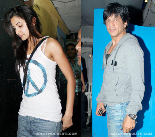 SRK-Anushka spotted at Olive (Bar & Kitchen) on Monday night.