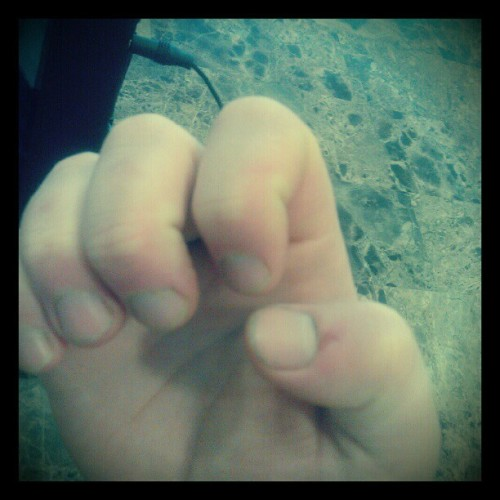 I have fingernails.  (Taken with Instagram)