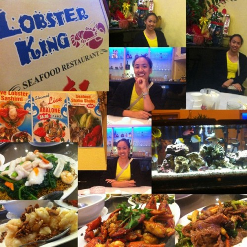 Happy Birthday Mom🎉😘❤ #happybirthday #lobsterking #fishtank #foodporn #happy #best #birthday #ever #iloveyou #mom (Taken with Instagram)