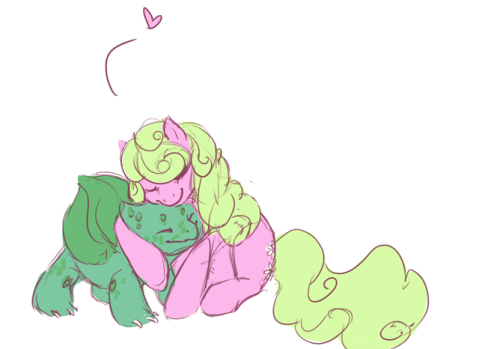 Anonymous asked: Do you like Bulbsaur? Daisy thinks bulbasaur is the best starter!