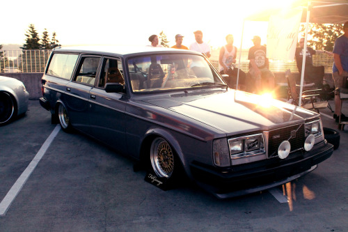 Here's another picture of Max's Volvo that's basically exactly the same as the one I posted earlier.